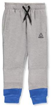 Reebok Little Boys' Joggers (Sizes 4 - 7) - gray, 4