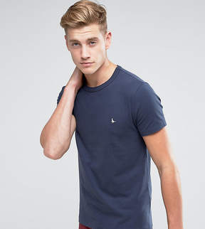 Jack Wills Landrier Muscle Fit T-Shirt in Navy
