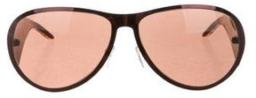 Just Cavalli Tinted Shield Sunglasses