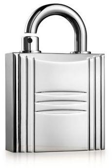 Hermes Pure Perfume Refillable Lock Spray Silver Tone/0.25 oz.