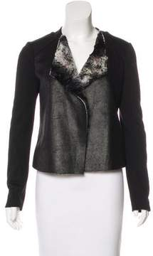 Ella Moss Faux Fur Open Front Jacket