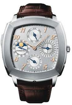 Audemars Piguet Tradition Perpetual Calendar Minute Repeater Silver Dial Men's Watch 26052BCOOD092CR01