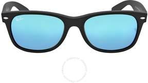 Ray-Ban New Wayfarer Blue Gradient Lens 55mm Men's Sunglasses