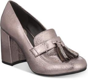 Kenneth Cole Reaction Happy Change Block-Heel Pumps Women's Shoes