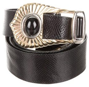 Judith Leiber Karung Embellished Belt