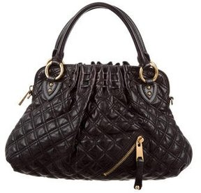 Marc Jacobs Quilted Tote Bag - BLACK - STYLE