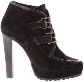 Barbara Bui Black Suede Ankle boots