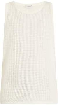 Lemaire Cotton-mesh tank-top