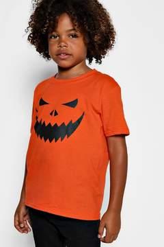 boohoo Boys Halloween Pumpkin T-Shirt