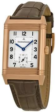 Jaeger-LeCoultre Jaeger Lecoultre Reverso Grande Taille Silver guilloche Dial Men's Watch