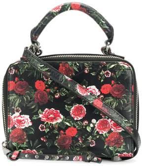 Rebecca Minkoff floral print mini tote - BLACK - STYLE