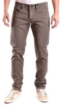 Siviglia Men's Brown Cotton Jeans.