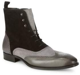 Mezlan Cerezo Leather Ankle Boots