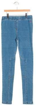 Joules Girls' Striped Denim Leggings w/ Tags