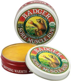 Sore Muscle Rub by Badger (2oz Balm)