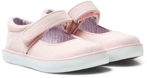 Ralph Lauren Pink Chambray Pippa Mary Janes