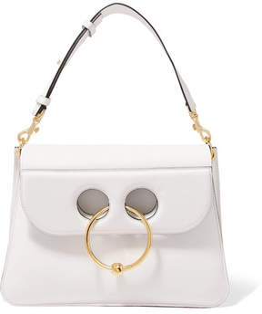 J.W.Anderson - Pierce Medium Leather Shoulder Bag - White