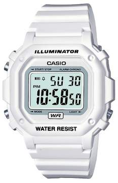 Casio Women's Digital Watch - White (F108WHC-7BCF)