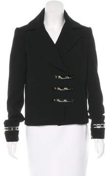 Anthony Vaccarello Embellished Double-Breasted Jacket