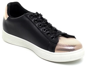 Refresh Action Metallic Accent Lace-Up Sneaker