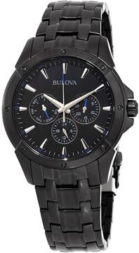 Bulova Classic Chronograph Black Dial Men's Watch