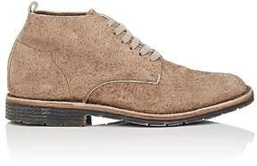 Buttero Men's Textured Suede Chukka Boots