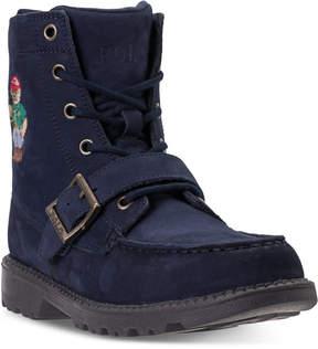 Polo Ralph Lauren Boys' Ranger High Ii Bear Boots from Finish Line
