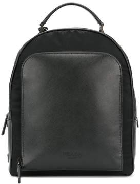 Prada zip backpack