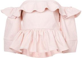 Apiece Apart Ventana off-Shoulder blouse