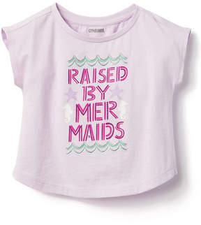 Gymboree Pretty Purple 'Raised by Mermaids' Tee - Infant, Toddler & Girls