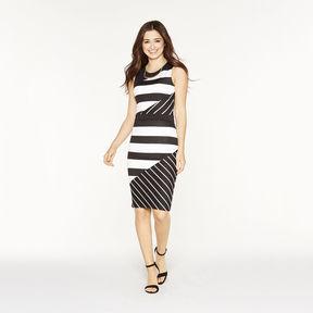 BELLE + SKY Sleeveless Seamed Bodycon Dress