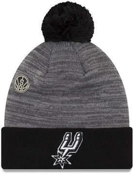 New Era San Antonio Spurs Pin Pom Knit Hat