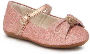 Pampili Girls Bailarina Bow Toddler Mary Jane Flat