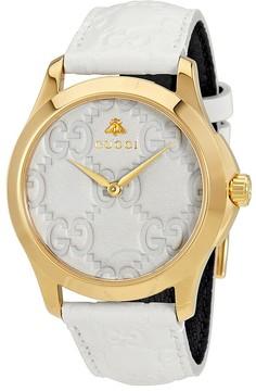 Gucci G-Timeless White Dial Men's Watch