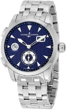Ulysse Nardin Dual Time Blue Dial Automatic Men's Watch