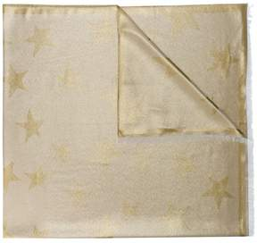 Stella McCartney metallic star scarf