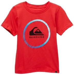 Quiksilver Active Logo Tee (Toddler & Little Boys)