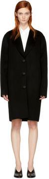 Acne Studios Black Landi Doublé Coat