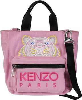 Kenzo Tiger Embroidered Shoulder Bag