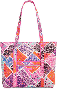 Vera Bradley Iconic Vera Large Tote - AUTUMN LEAVES - STYLE