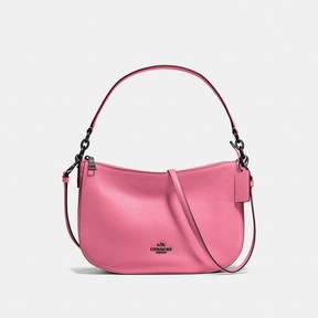 COACH COACH CHELSEA CROSSBODY - BRIGHT PINK/DARK GUNMETAL