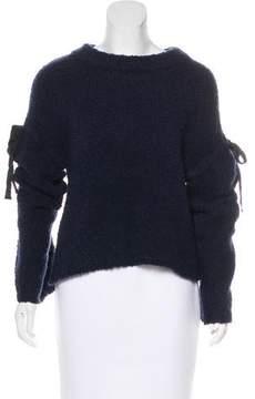 White + Warren Scoop Neck Long Sleeve Sweater