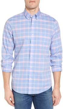 Nordstrom Smartcare(TM) Regular Fit Plaid Sport Shirt