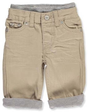 Levi's Baby Boys' 514 Straight Pull-On Pants - khaki, 3 - 6 months