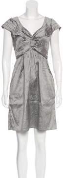 Calypso Cap Sleeve Mini Dress