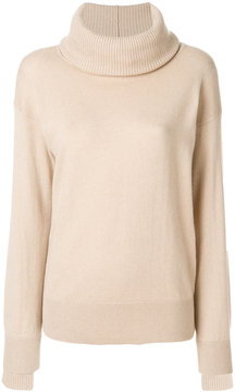 Agnona roll-neck fitted sweater