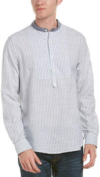 Michael Bastian Gray Label Woven Pop Over Shirt