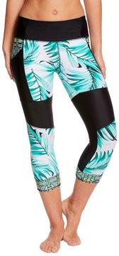 Body Glove Breathe Women's TropiCal Seven Seas Hybrid Capri Legging - 8143536