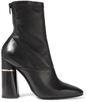 3.1 Phillip Lim Kyoto Leather Sock Boots - Black