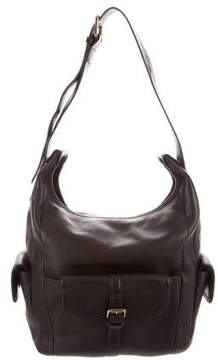 Chloé Leather Buckle Hobo